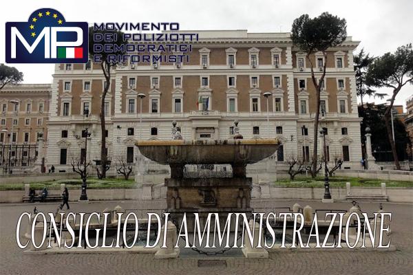 ORDINE DEL GIORNO CONSIGLIO DI AMMINISTRAZIONE