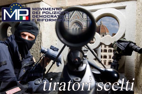 CORSO QUALIFICAZIONE TIRATORE SCELTO POLIZIA DI STATO
