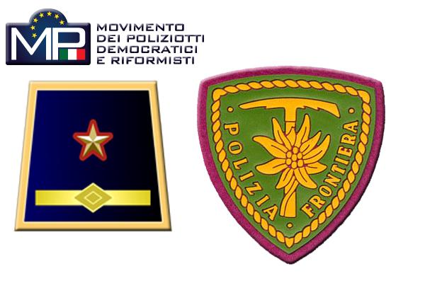 CORSO DI ADDESTRAMENTO PER SOSTITUTI COMMISSARI IN SERVIZIO NELLA POLIZIA DI FRONTIERA