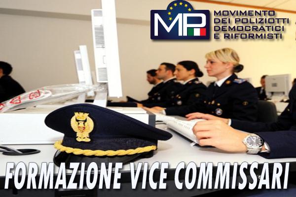 CORSO DI FORMAZIONE PER VICE COMMISSARI DEL RUOLO DIRETTIVO AD ESAURIMENTO DELLA POLIZIA DI STATO