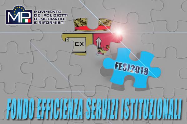 FONDO PER L'EFFICIENZA DEI SERVIZI ISTITUZIONALI ANNO 2018