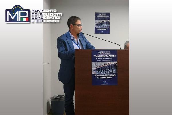MP: PACE ELETTO NEL DIRETTIVO NAZIONALE