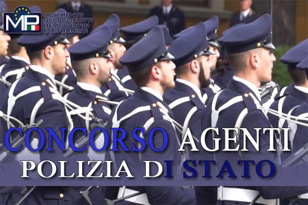 CONCORSO PUBBLICO, PER ESAME, A 1650 POSTI PER ALLIEVO AGENTE - D.C.P. 29/01/2020