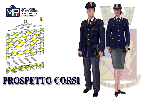 PROSPETTO CORSI GENNAIO 2021 POLIZIA DI STATO