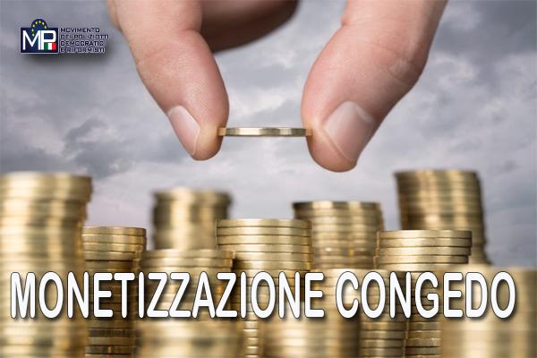 MONETIZZAZIONE CONGEDO ORDINARIO CHIARIMENTI