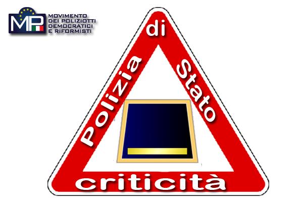 CRITICITÀ SOVRINTENDENTI DELLA POLIZIA DI STATO LETTERA AL CAPO DELLA POLIZIA