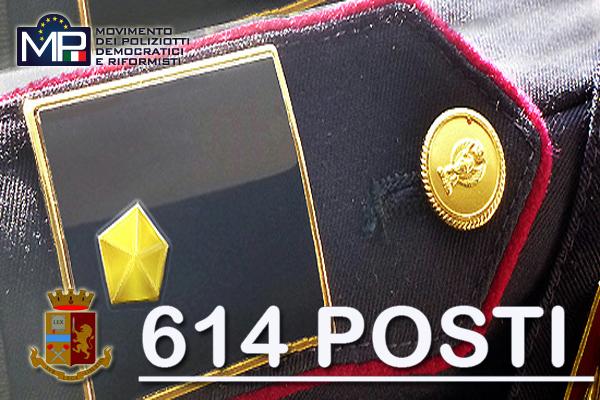 GRADUATORIA VINCITORI CONCORSO INTERNO, PER TITOLI, PER LA COPERTURA DI 614 POSTI PER VICE ISPETTORE