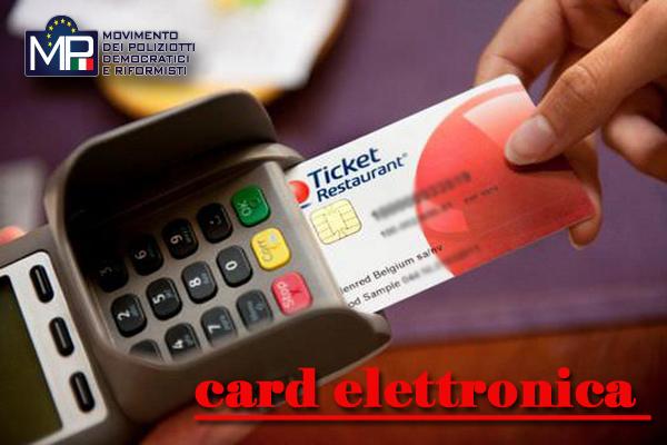 AGRIGENTO: SOLLECITATA LA CARD ELETTRONICA PER I BUONI PASTO