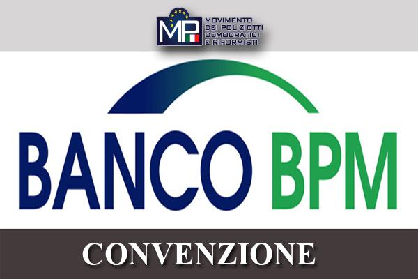 CONVENZIONE BANCO BPM POLIZIA DI STATO