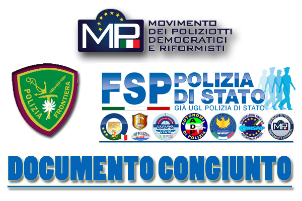 PROGETTO DI RIORGANIZZAZIONE DELLA POLIZIA STRADALE  COMUNICATO DI FEDERAZIONE