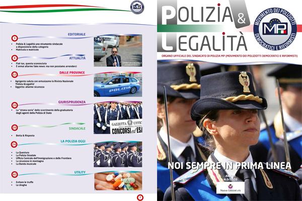POLIZIA & LEGALITÀ ORGANO D'INFORMAZIONE UFFICIALE DI M.P. - MOVIMENTO DEI POLIZIOTTI DEMOCRATICI E RIFORMISTI