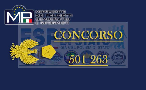 SINTESI INCONTRO CONCORSO 263 E 501 VICE ISPETTORI DELLA POLIZIA DI STATO