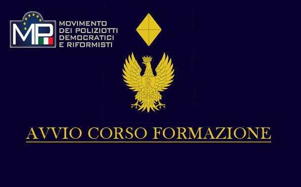 28 CORSO DI FORMAZIONE PER VICE SOVRINTENDENTI DELLA P S - AVVIO CORSO