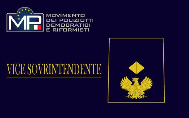 DOCUMENTO DI FEDERAZIONE PER IL MANTENIMENTO DELLA SEDE PER I 2214 VICE SOVRINTENDENTI DELLA POLIZIA DI STATO