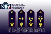 VELINA TRASFERIMENTI SOVRINTENDENTI  DELLA POLIZIA DI STATO CON DECORRENZA 22 GIUGNO 2020