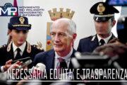 LETTERA AL CAPO DELLA POLIZIA: NECESSARIO E FUNZIONALE UNO SCORRIMENTO COMPLESSIVO DELLE GRADUATORIE