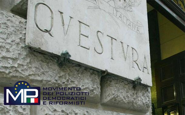 DECRETO DI COSTITUZIONE ALLA DIPENDENZE DELLA QUESTURA DI ROMA DI 15 DISTRETTI DI PUBBLICA SICUREZZA