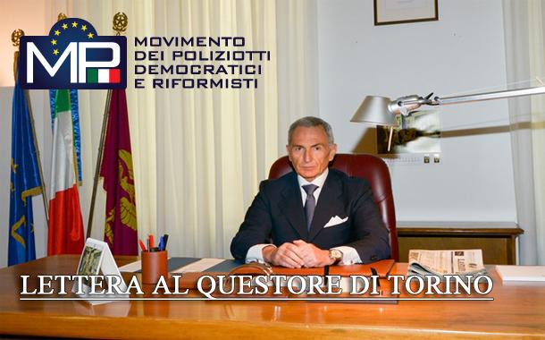 LETTERA AL QUESTORE DI TORINO: IMPIEGO PERSONALE REPARTO MOBILE BOLOGNA  VAL DI SUSA.-