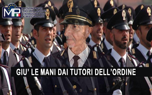 M.P. CHIEDE L'ABBASSAMENTO DELL'ETA' ANAGRAFICA PER IL PENSIONAMENTO DELLE FORZE DELL'ORDINE