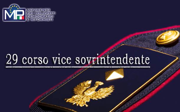 29 CORSO FORMAZIONE QUALIFICA V. SOVR/TE - DISPOSIZIONI ORGANIZZATIVE - AVVIO 1° E 2° CICLO