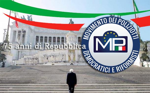 75° ANNIVERSARIO DELLA REPUBBLICA ITALIANA